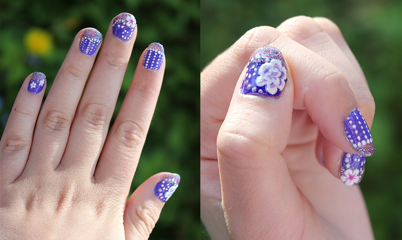 summer nails by Lintsi