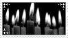 bw candles stamp 7 by r0senr0tten