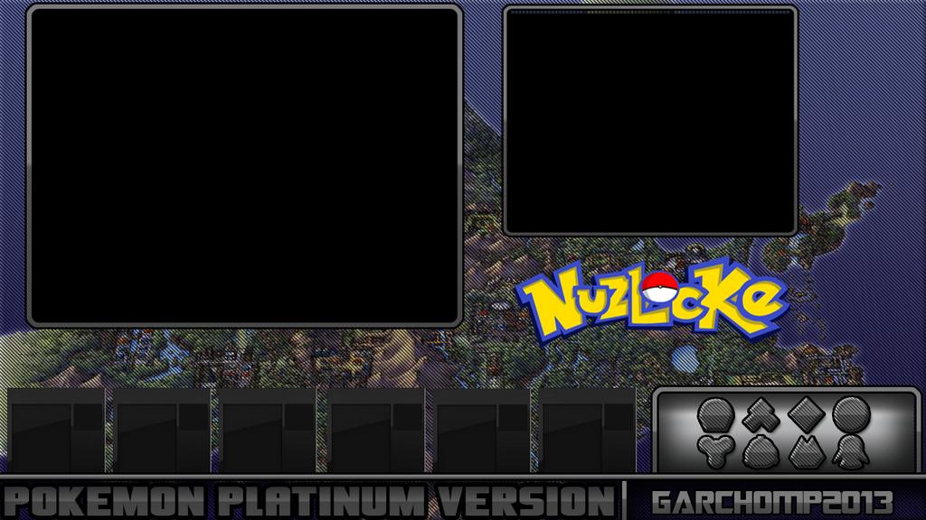 Pokemon Platinum Nuzlocke Randommizer Layout By