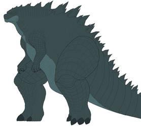 Godzilla base colors [WIP] by GojiraG