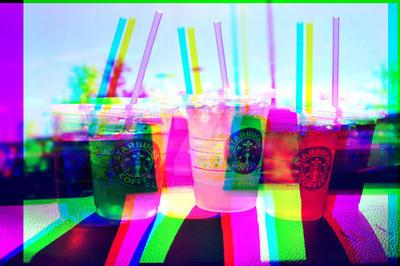 Starbucks 3D by lizitadp