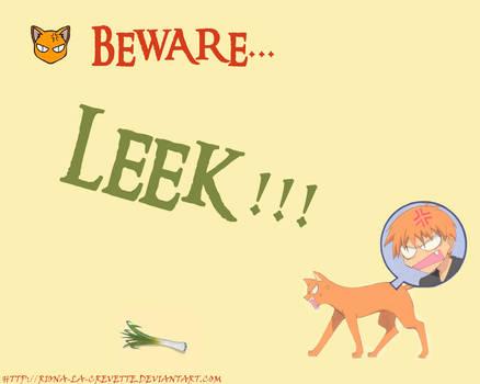 Fruits Basket: Kyo vs Leek