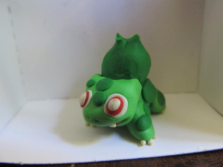 Bulbasaur Clay Minisculpture by xXShiningstar