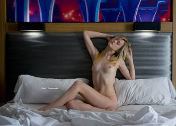 Olivia Preston in a Hotel Room 33 by Jim52-Photoworks