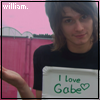 William Loves Gabe by liiishaa