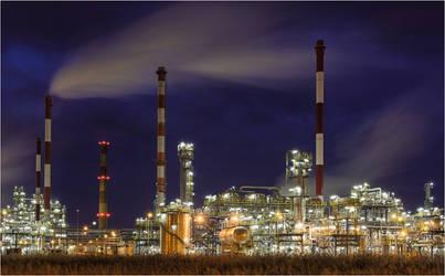 Industrial night by ForrestBump