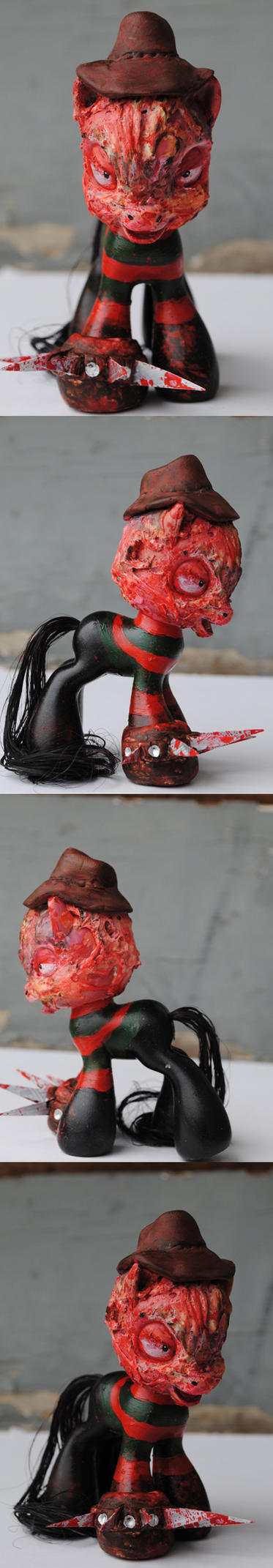 My Little Pony Freddy Krueger by Tat2ood-Monster