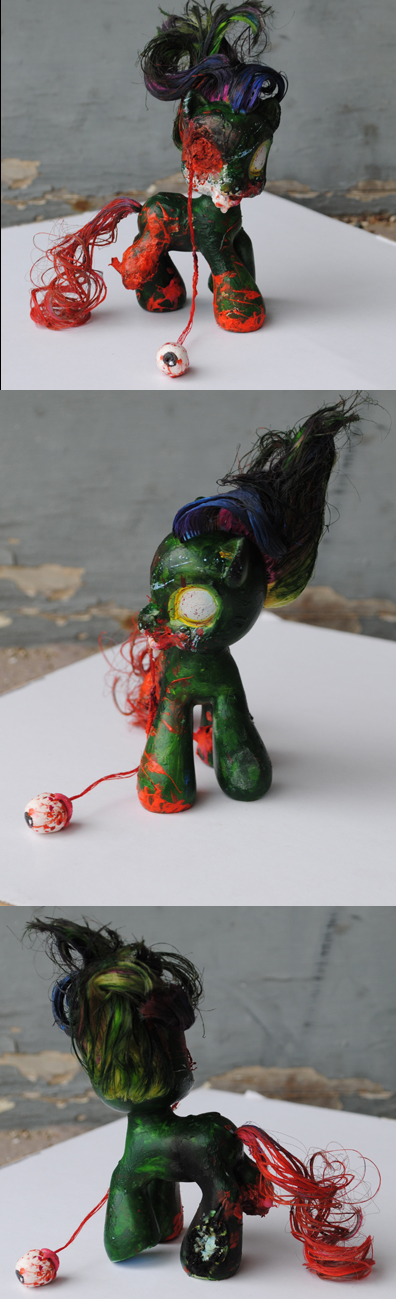 My Little Pony Zombie by Tat2ood-Monster