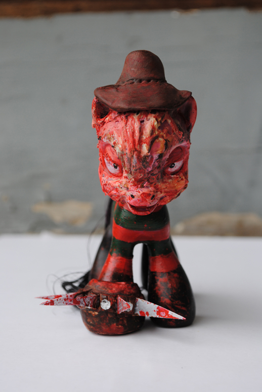 LITTLE PONY FREDDY KRUEGER by Tat2ood-Monster