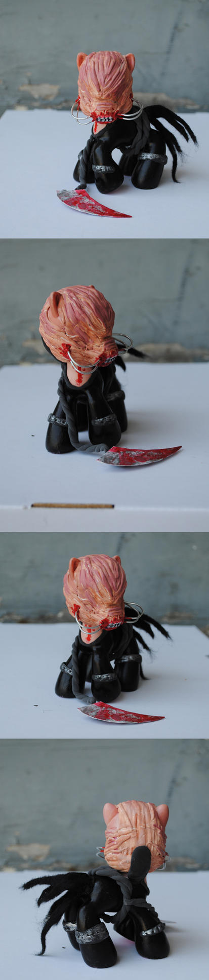 My Little Pony Cenobite by Tat2ood-Monster