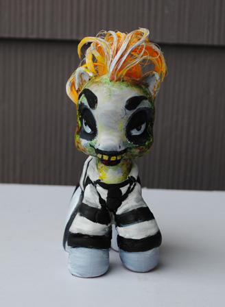 My Little Pony Beetlejuice by Tat2ood-Monster
