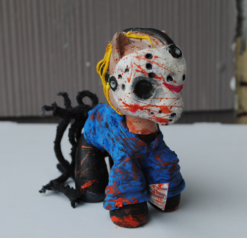 My Little Pony Jason Voorhees by Tat2ood-Monster
