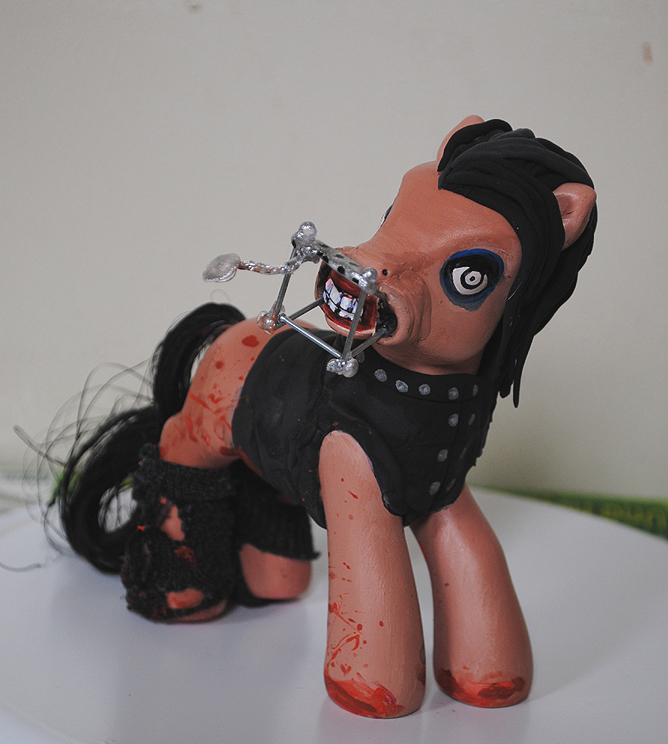 My Little Pony Marilyn Manson by Tat2ood-Monster