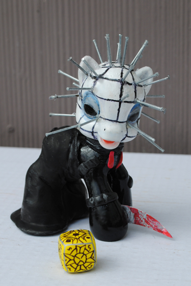 My Little Pony Pinhead by Tat2ood-Monster