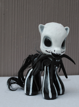 Little Pony Jack Skellington by Tat2ood-Monster