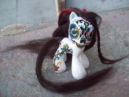 My Little Pony sugar skull by Tat2ood-Monster