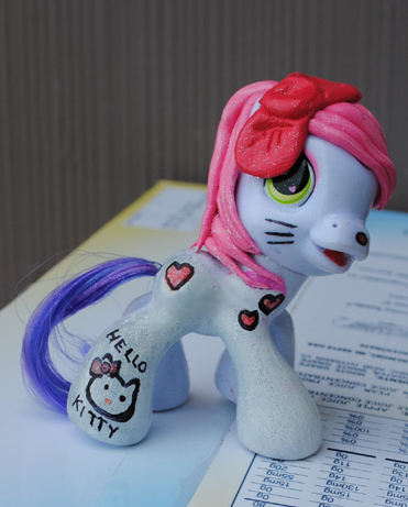 My Little Pony Hello Kitty by Tat2ood-Monster