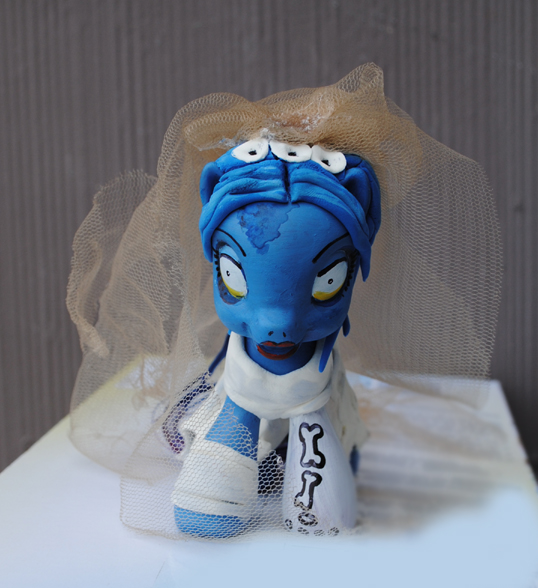 MyLittle Pony Corpse Bride by Tat2ood-Monster