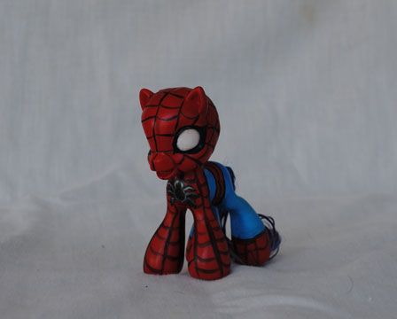 My Little Pony Spiderman by Tat2ood-Monster