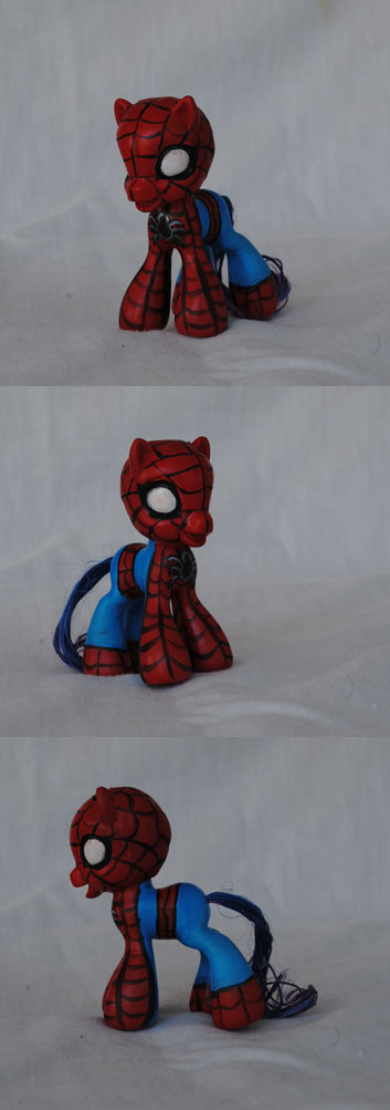 My Little Pony spiderman 2 by Tat2ood-Monster