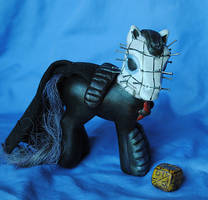 My Little Pony Pinhead version 2 by Tat2ood-Monster