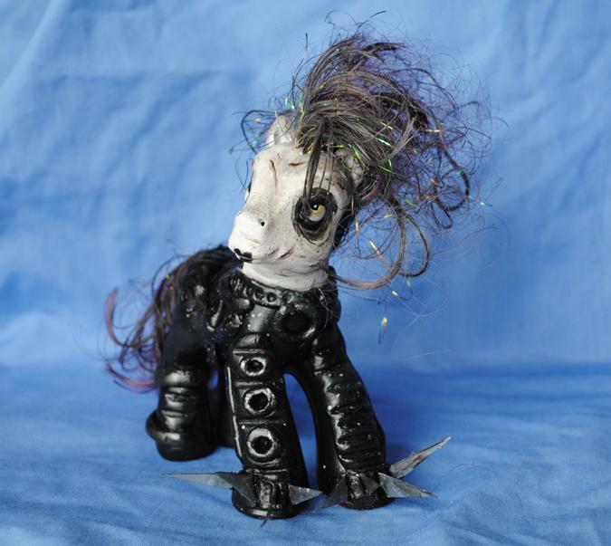 My Little Edward Scissorhands by Tat2ood-Monster