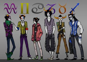 HS - Fashionstuck by jokerful