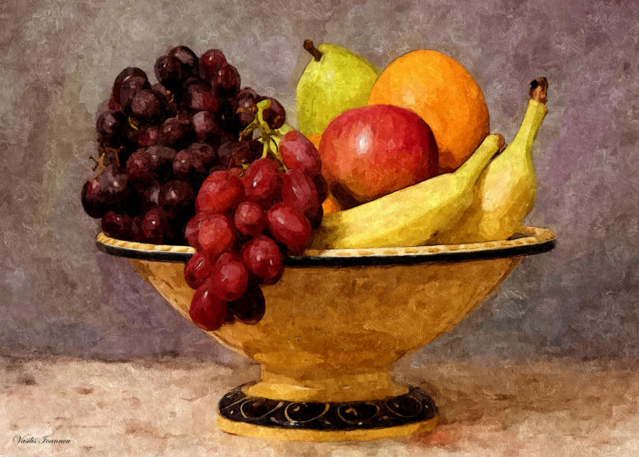 Still life with fruits 3052010 by ioannou on DeviantArt