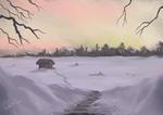 Winter - Speed Painting