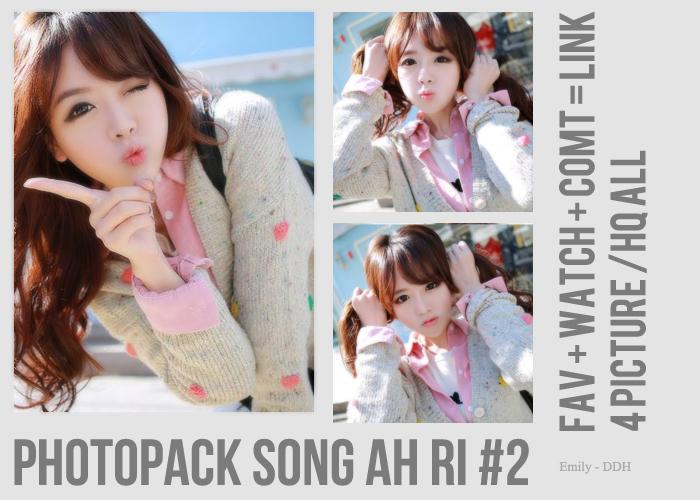 Photopack Song Ah Ri #2 by Bear-Emily