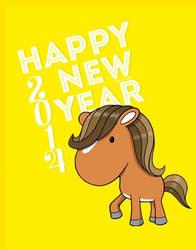 Happy New Year 2014 by Bear-Emily