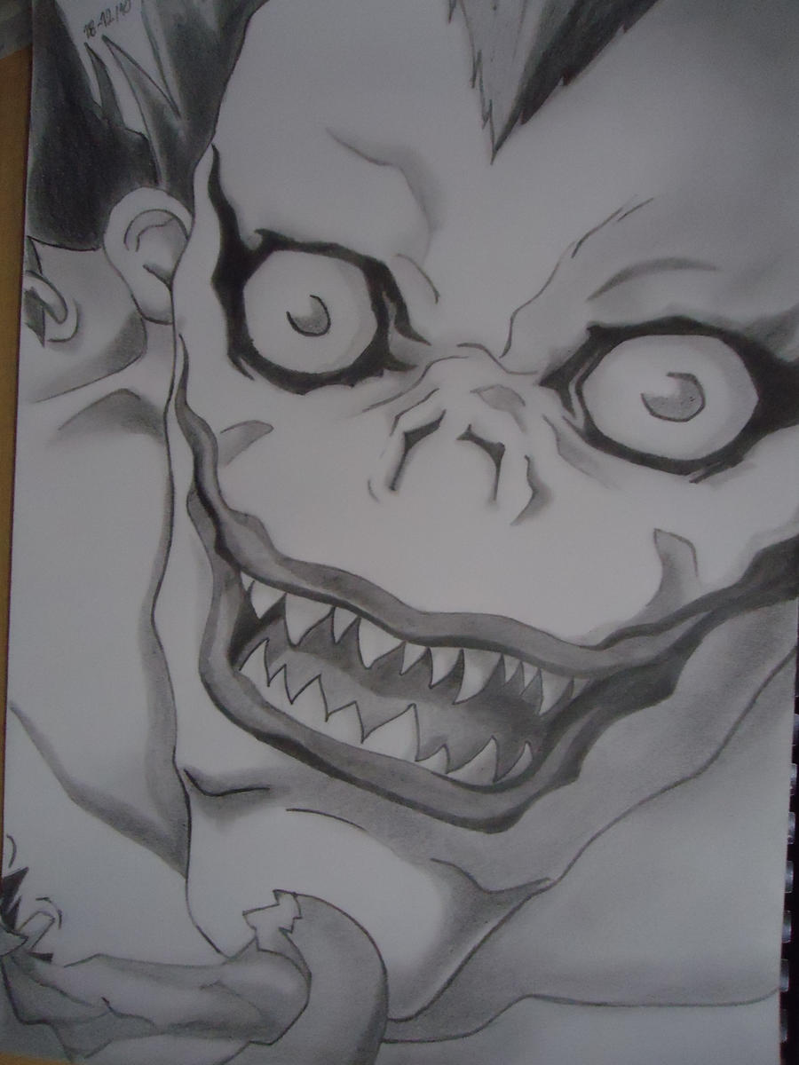 Ryuk [DeathNote] by GiriPan95 on DeviantArt