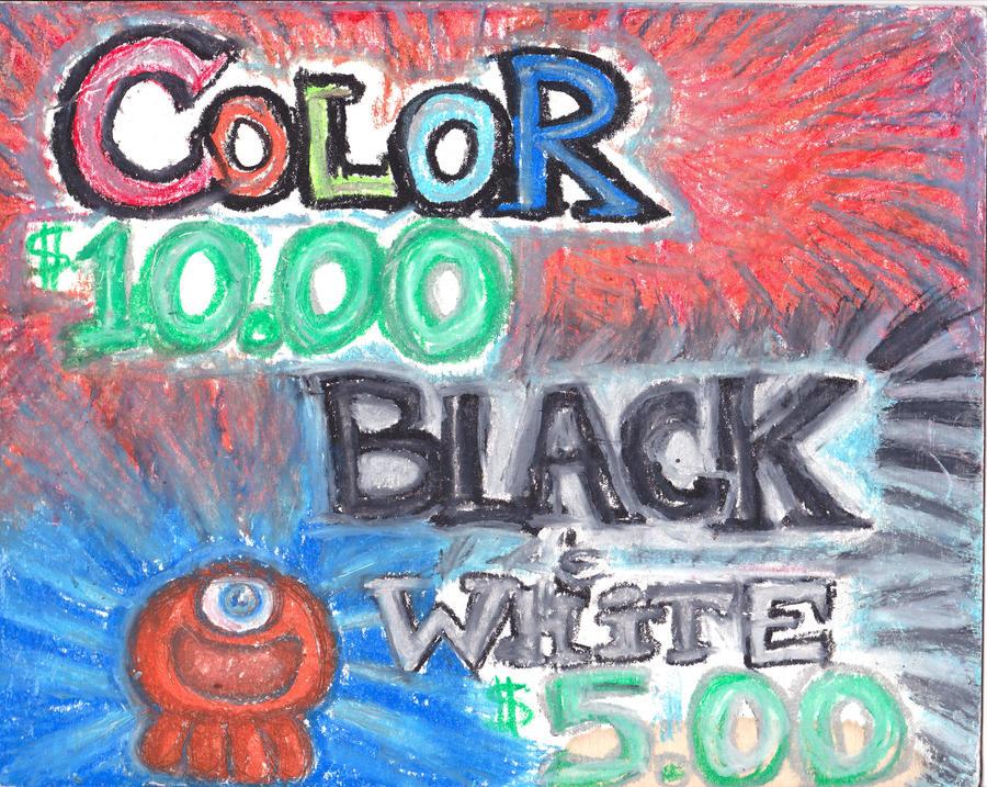Oddling- Color or Black+White