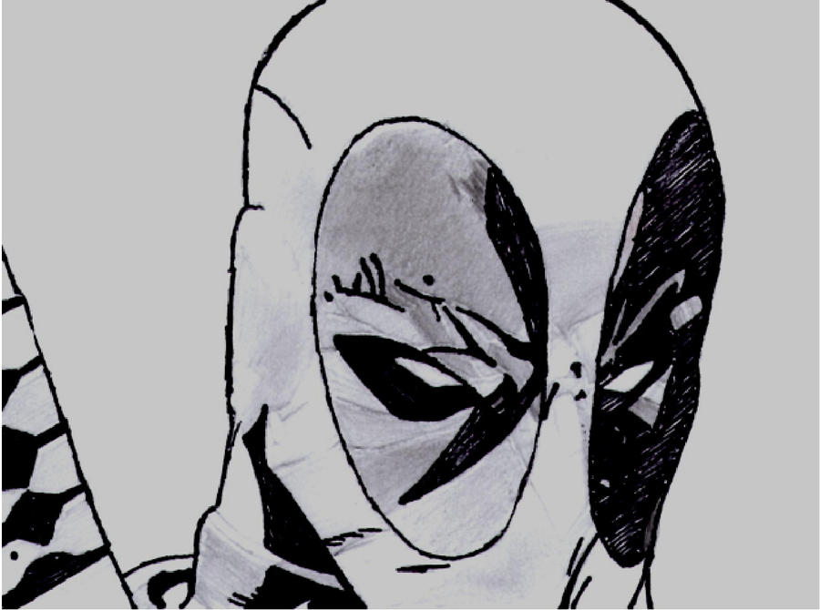 serious face deadpool by  shadowhunter1138 on deviantart