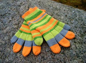 Coraline inspired gloves