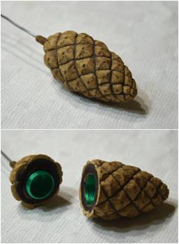 Pinecone geocache