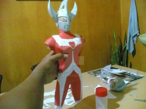 Ultraman in progress