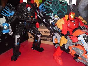 Iron man, Von nebula and b-daman