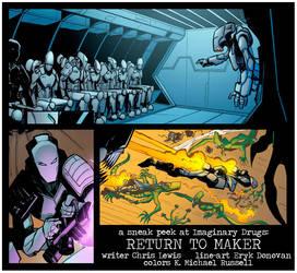 Imaginary Drugs: Return To Maker promo by kmichaelrussell