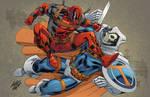Rob Liefeld Deadpool commission