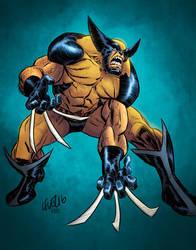 Wolverine sketch by kmichaelrussell