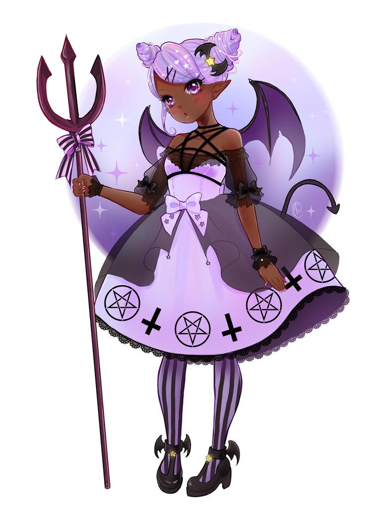 Cutie devil by Poochi-Pooch