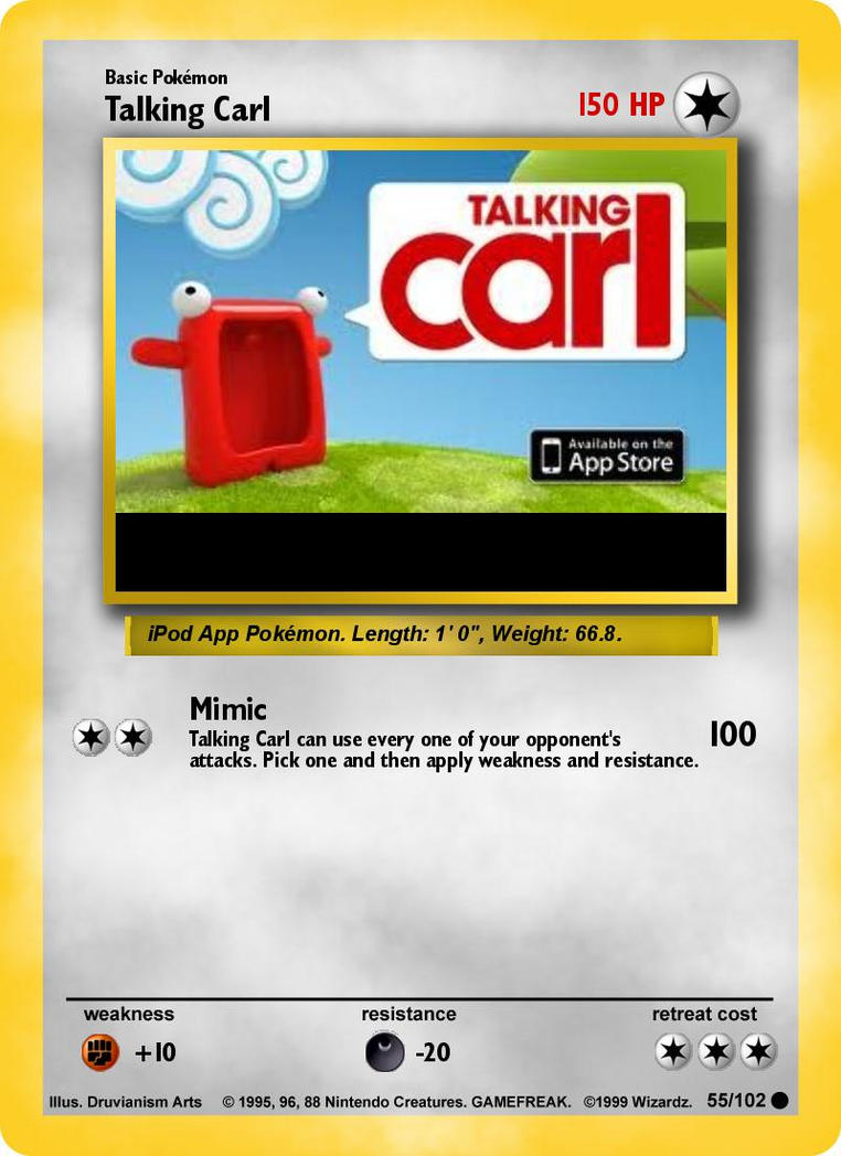 Summary Pokemon Maker gt; Card App -