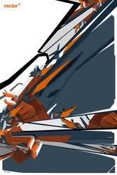 Orange Vector by FlowisKing