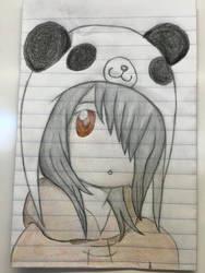 Panda by NatsuDragneelx777