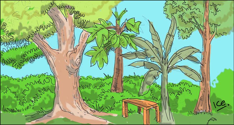 Kampung Trees by ujangzero
