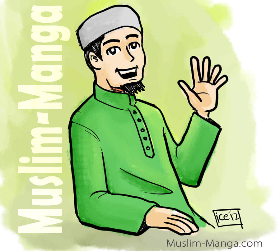 Muslim Manga OC Entry by ujangzero