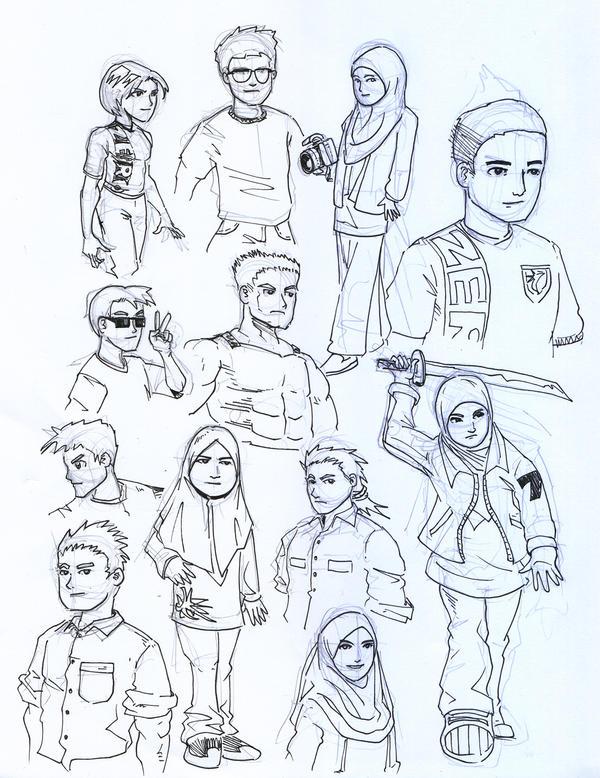 Sketchdump by ujangzero