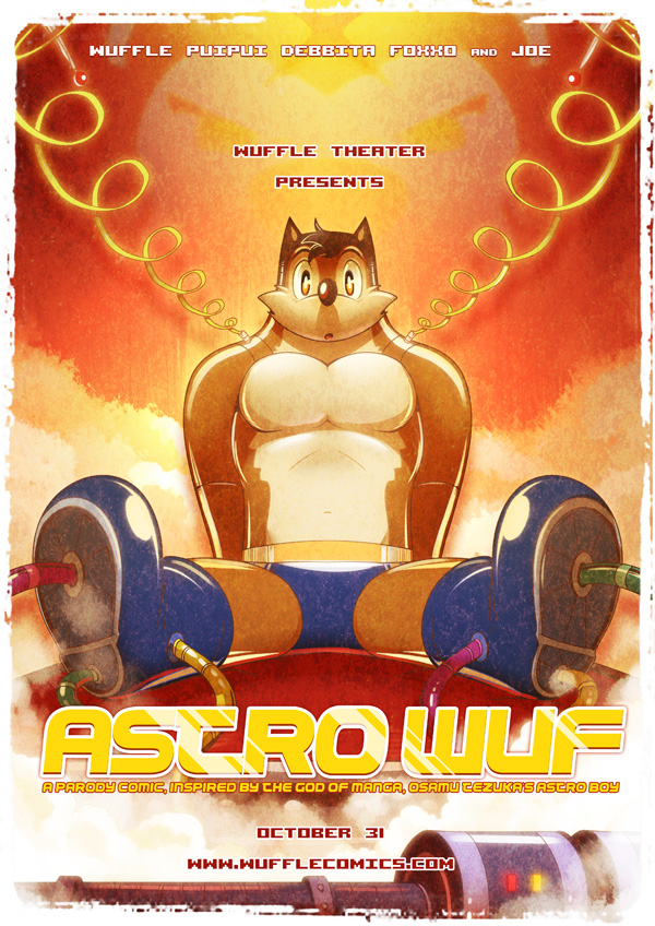 Astro Wuf Final Poster by PitiYindee