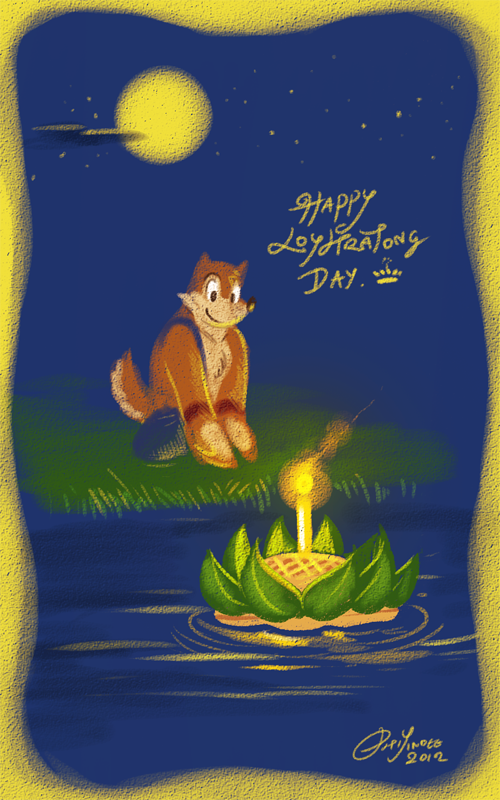 Happy Loy Kratong day! by PitiYindee